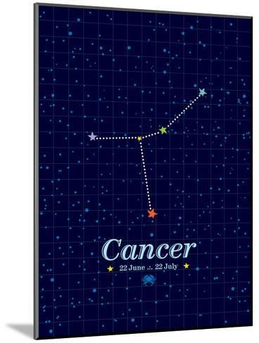 Cancer-Patricia Pino-Mounted Art Print