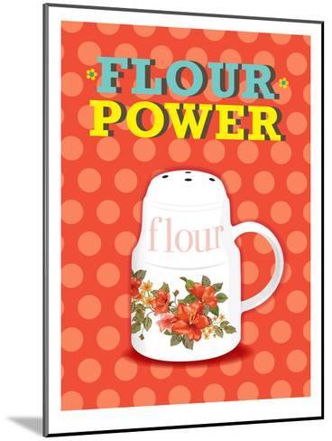 Flour Power-Patricia Pino-Mounted Art Print