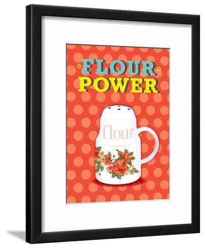 Flour Power-Patricia Pino-Framed Art Print