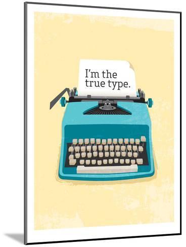 Typewriter-Patricia Pino-Mounted Art Print