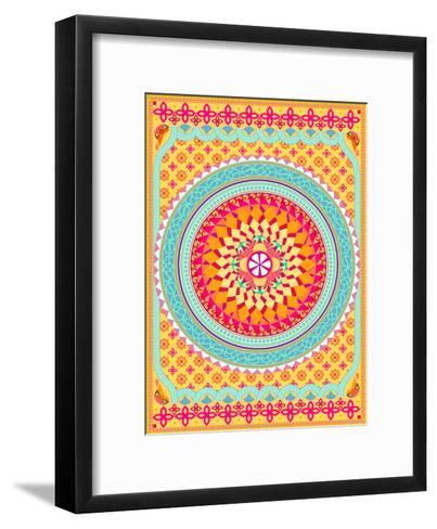 Pattern II-Patricia Pino-Framed Art Print