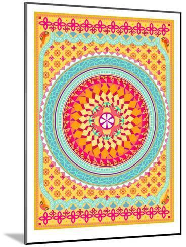 Pattern II-Patricia Pino-Mounted Art Print