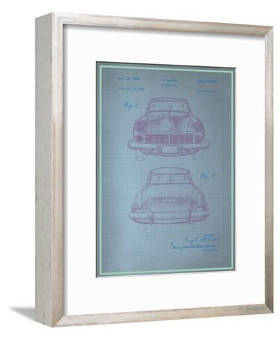 Studebaker Blueprint--Framed Art Print