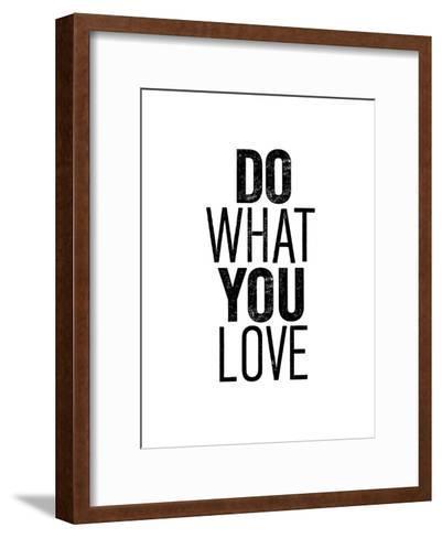 Do What You Love-Brett Wilson-Framed Art Print