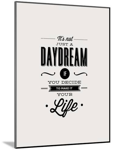 It's Not Just a Daydream-Brett Wilson-Mounted Art Print