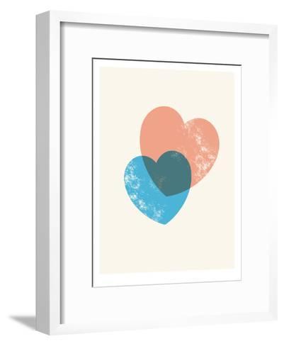 Hearts Combine-Brett Wilson-Framed Art Print