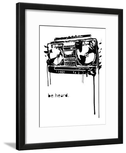 Be Heard-Matthew Schnepf-Framed Art Print