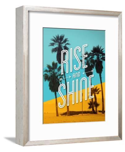 Rise and Shine Beach-Brett Wilson-Framed Art Print