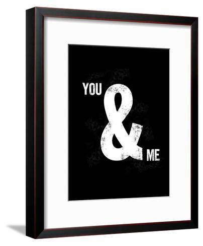 You Ampersand Me-Brett Wilson-Framed Art Print