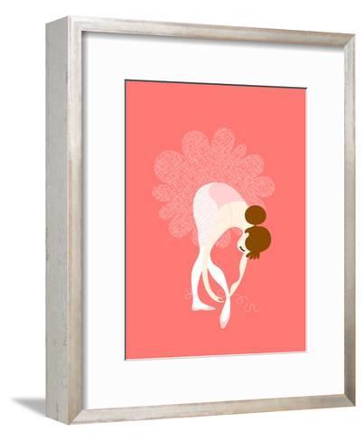 Ballerina Slippers-The Paper Nut-Framed Art Print