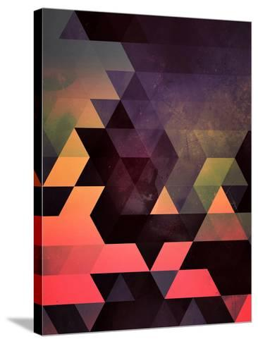 Untitled (dygyt)-Spires-Stretched Canvas Print
