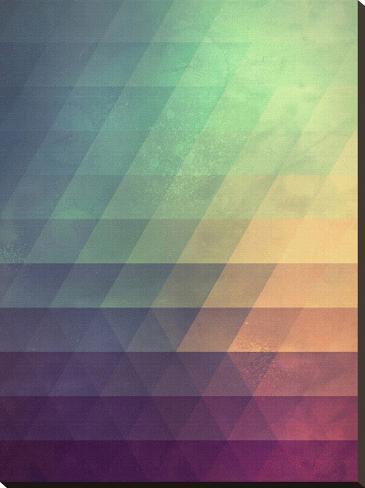 Untitled (fyde)-Spires-Stretched Canvas Print