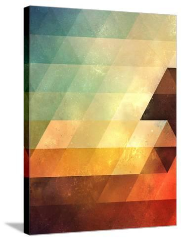 Untitled (lyyt lyyf)-Spires-Stretched Canvas Print