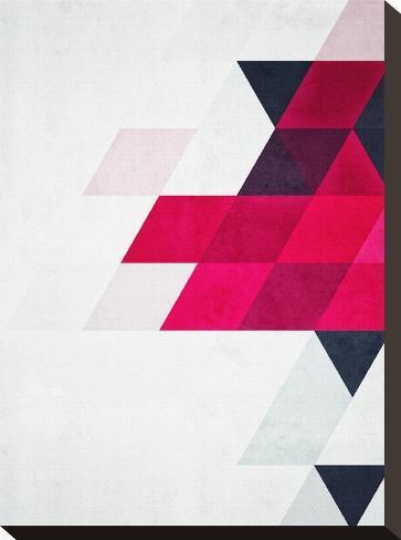 Untitled (minimylysse)-Spires-Stretched Canvas Print