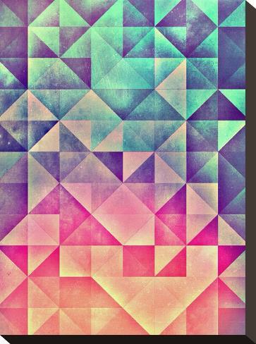 Untitled (myllyynyre)-Spires-Stretched Canvas Print