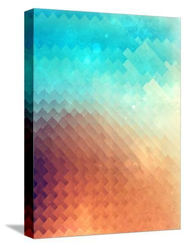 Untitled (plyyn hyte)-Spires-Stretched Canvas Print