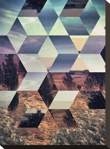 Untitled (syylvya rrkk)-Spires-Stretched Canvas Print