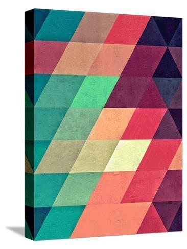 Untitled (xy tyrquyss)-Spires-Stretched Canvas Print