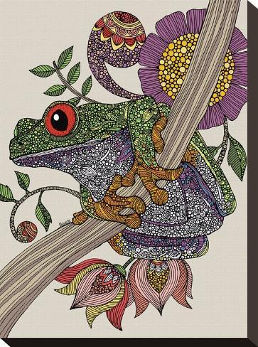 Phileus Frog-Valentina Ramos-Stretched Canvas Print