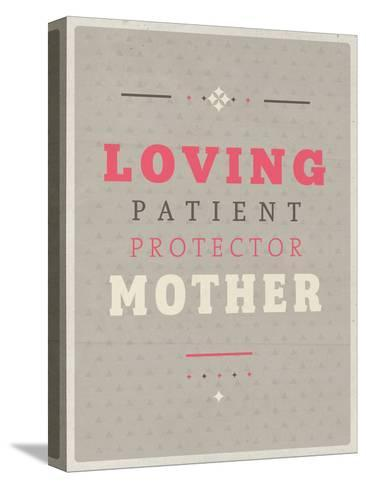 Loving Mother-Maria Hernandez-Stretched Canvas Print