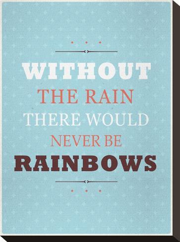 Rainbows-Maria Hernandez-Stretched Canvas Print