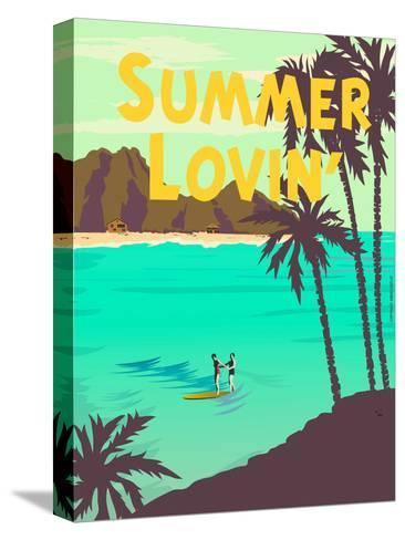 Summer Lovin'-Diego Patino-Stretched Canvas Print