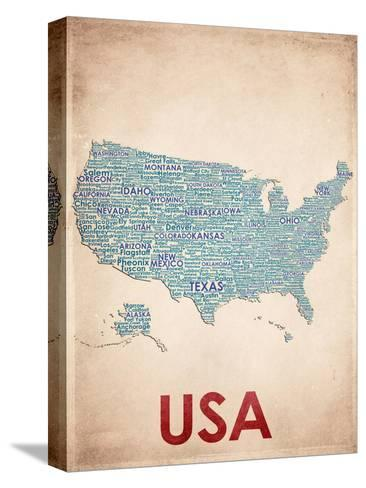 USA--Stretched Canvas Print