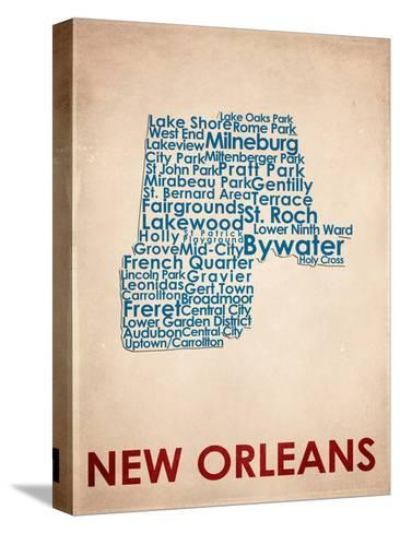 New Orleans--Stretched Canvas Print