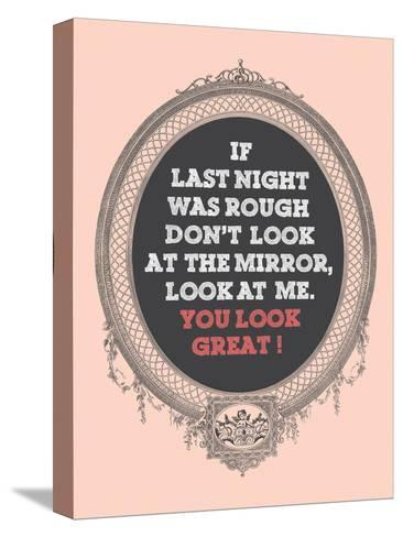You Look Great-Patricia Pino-Stretched Canvas Print