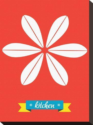 Kitchen-Patricia Pino-Stretched Canvas Print