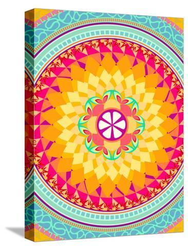 Pattern I-Patricia Pino-Stretched Canvas Print