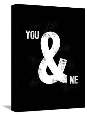 You Ampersand Me-Brett Wilson-Stretched Canvas Print