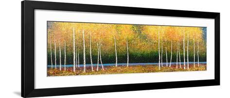Grove Panorama-Melissa Graves-Brown-Framed Art Print
