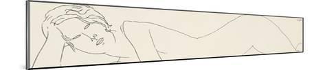 Reclining Nude-Amedeo Modigliani-Mounted Giclee Print
