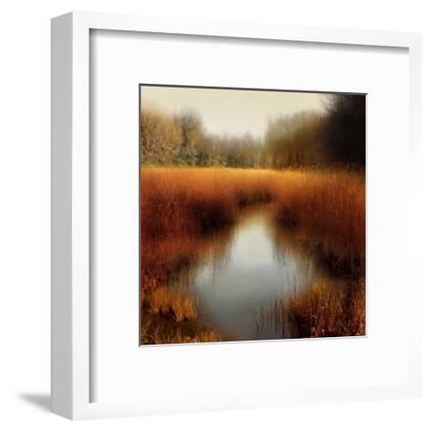 Sunlit Pond II-Madeline Clark-Framed Art Print