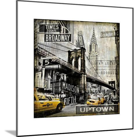 Landmarks NYC-Dylan Matthews-Mounted Giclee Print