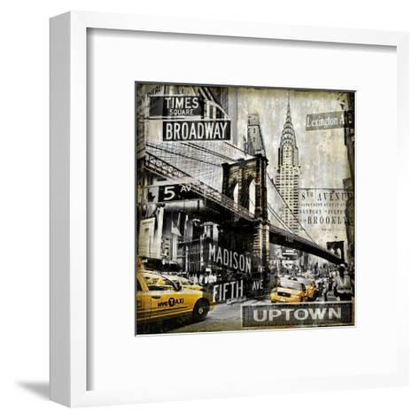 Landmarks NYC-Dylan Matthews-Framed Art Print
