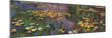 Water Lilies-Claude Monet-Mounted Giclee Print