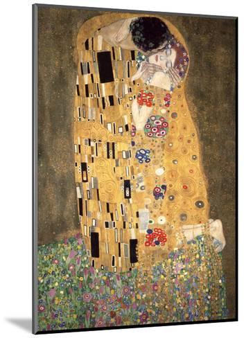 The Kiss, c.1907-Gustav Klimt-Mounted Giclee Print