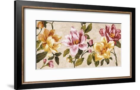 Pink Meets Yellow-Pamela Davis-Framed Art Print