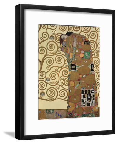 Fulfillment, Stoclet Frieze, c.1909-Gustav Klimt-Framed Art Print