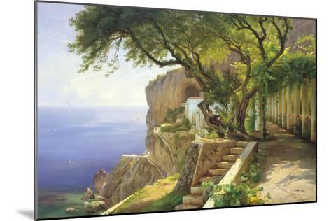 Pergola in Amalfi-Carl Frederic Aagaard-Mounted Giclee Print