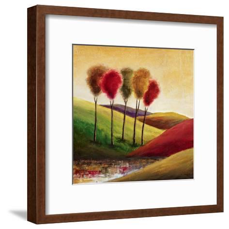 Endless Hills II-Mike Klung-Framed Art Print