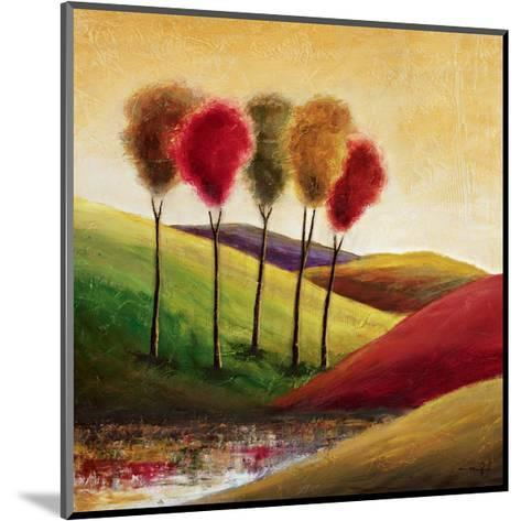 Endless Hills II-Mike Klung-Mounted Giclee Print