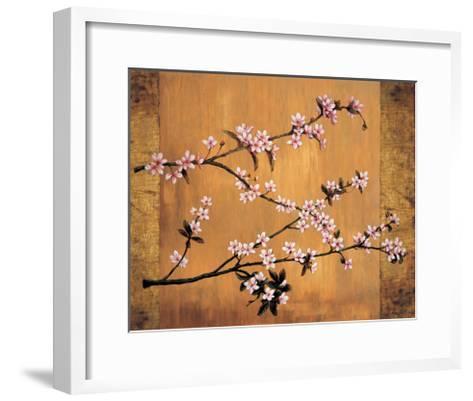 Cherry Blossoms-Erin Lange-Framed Art Print