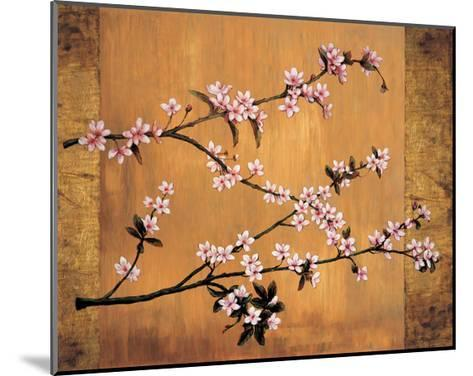Cherry Blossoms-Erin Lange-Mounted Giclee Print