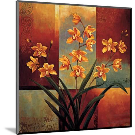 Orange Orchid-Jill Deveraux-Mounted Giclee Print