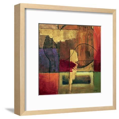 Opulent Relief II-Mike Klung-Framed Art Print