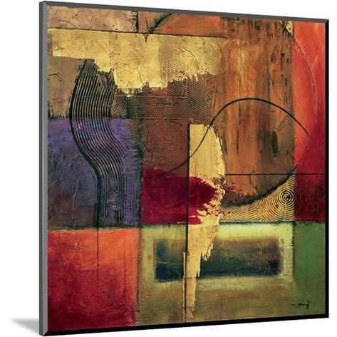 Opulent Relief II-Mike Klung-Mounted Giclee Print