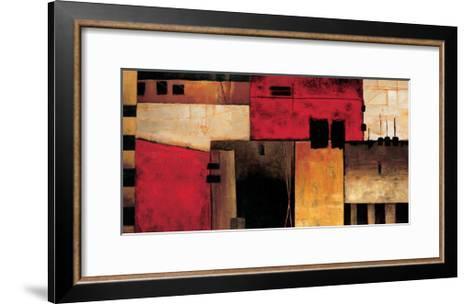 On the Horizon-Max Hansen-Framed Art Print